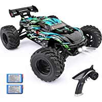 HAIBOXING RC Cars Hailstorm, 36+KM/H High Speed 4WD 1:18 Scale Electric Waterproof Truggy Remote Control Off Road…