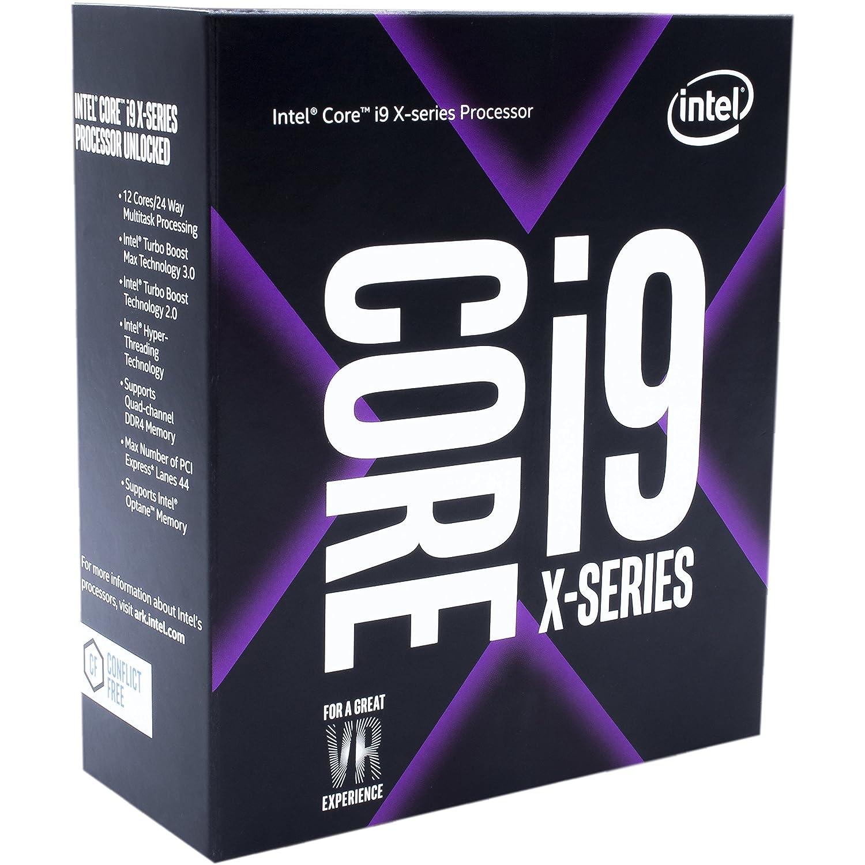 Intel Core i7-7800X X-Series Processor 6 Cores up to 4.0 GHz Turbo Unlocked LGA2066 X299 Series 140W