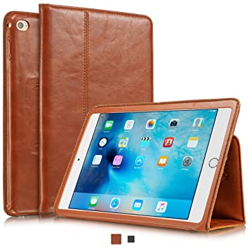 KAVAJ Leather Case Berlin for The Apple iPad Mini 4 Cognac ...
