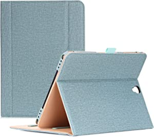 ProCase Galaxy Tab S3 9.7 Case, Stand Folio Case Cover for Galaxy Tab S3 Tablet (9.7 Inch, SM-T820 T825 T827), with Multiple Viewing Angles, Document Card Pocket -Teal