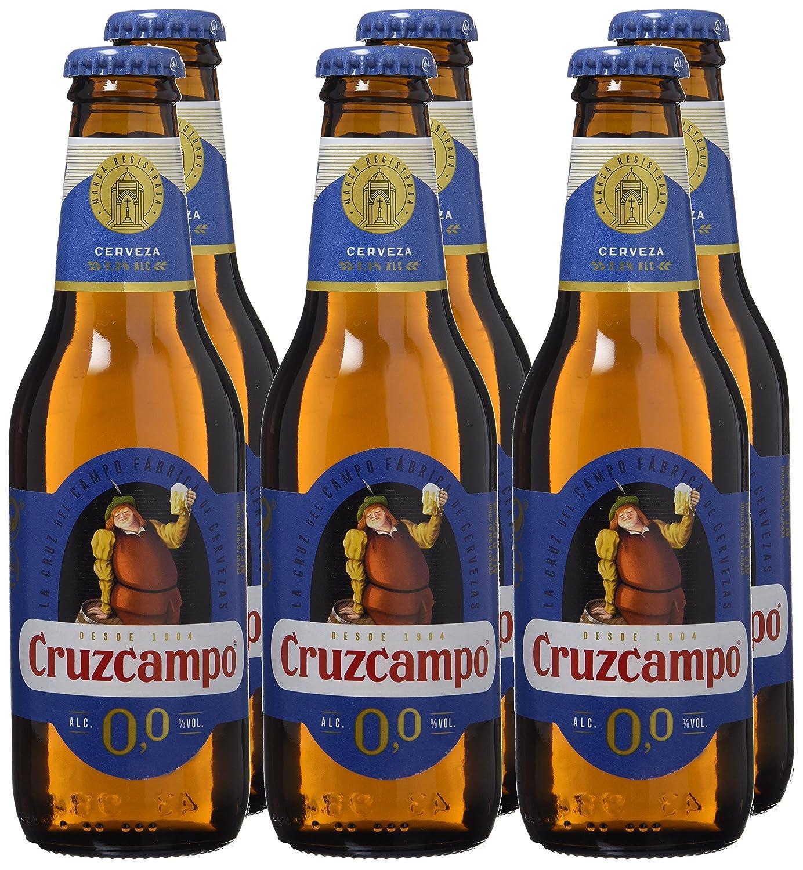 Cruzcampo 00 Cerveza - Pack de 6 Botellas x 250 ml - Total ...