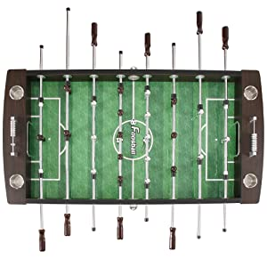 Hathaway Primo Soccer Table, Brown, 56-Inch, playing surface