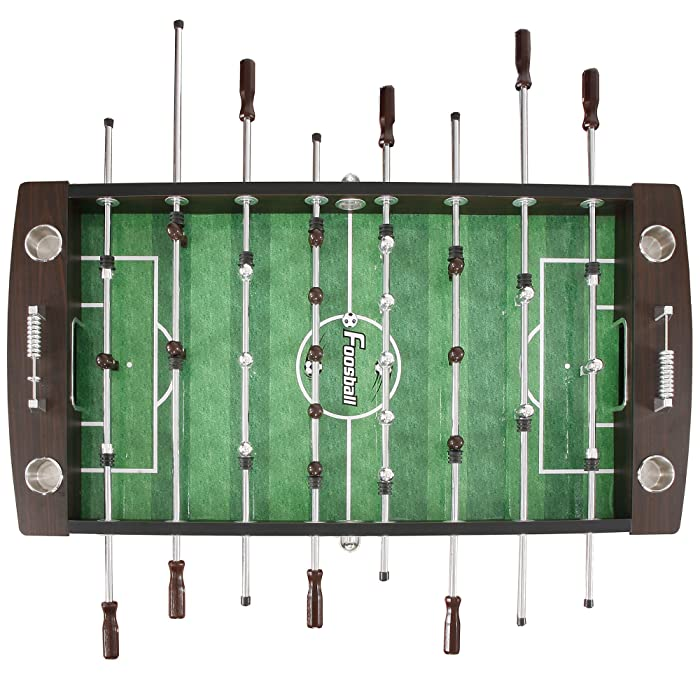 Hathaway Primo Soccer Table, Brown, 56-Inch
