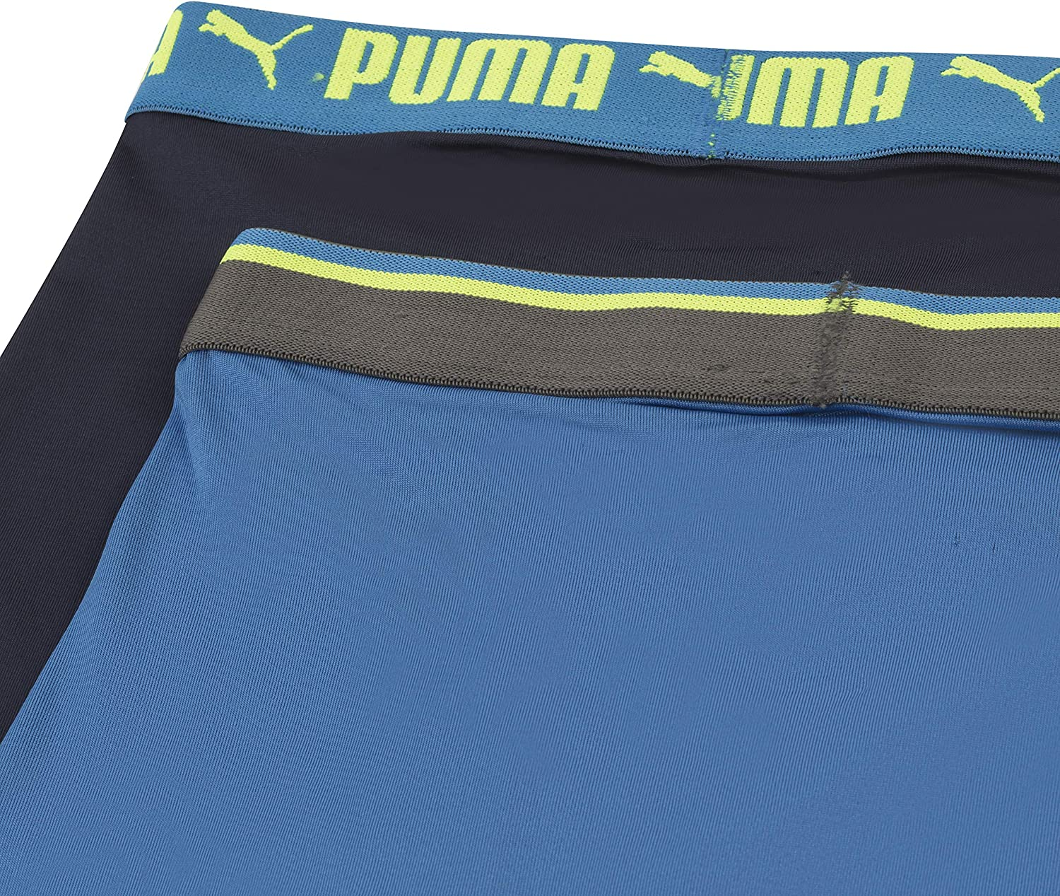 PUMA Boys Logo Performance Boxer Brief Boxer Briefs