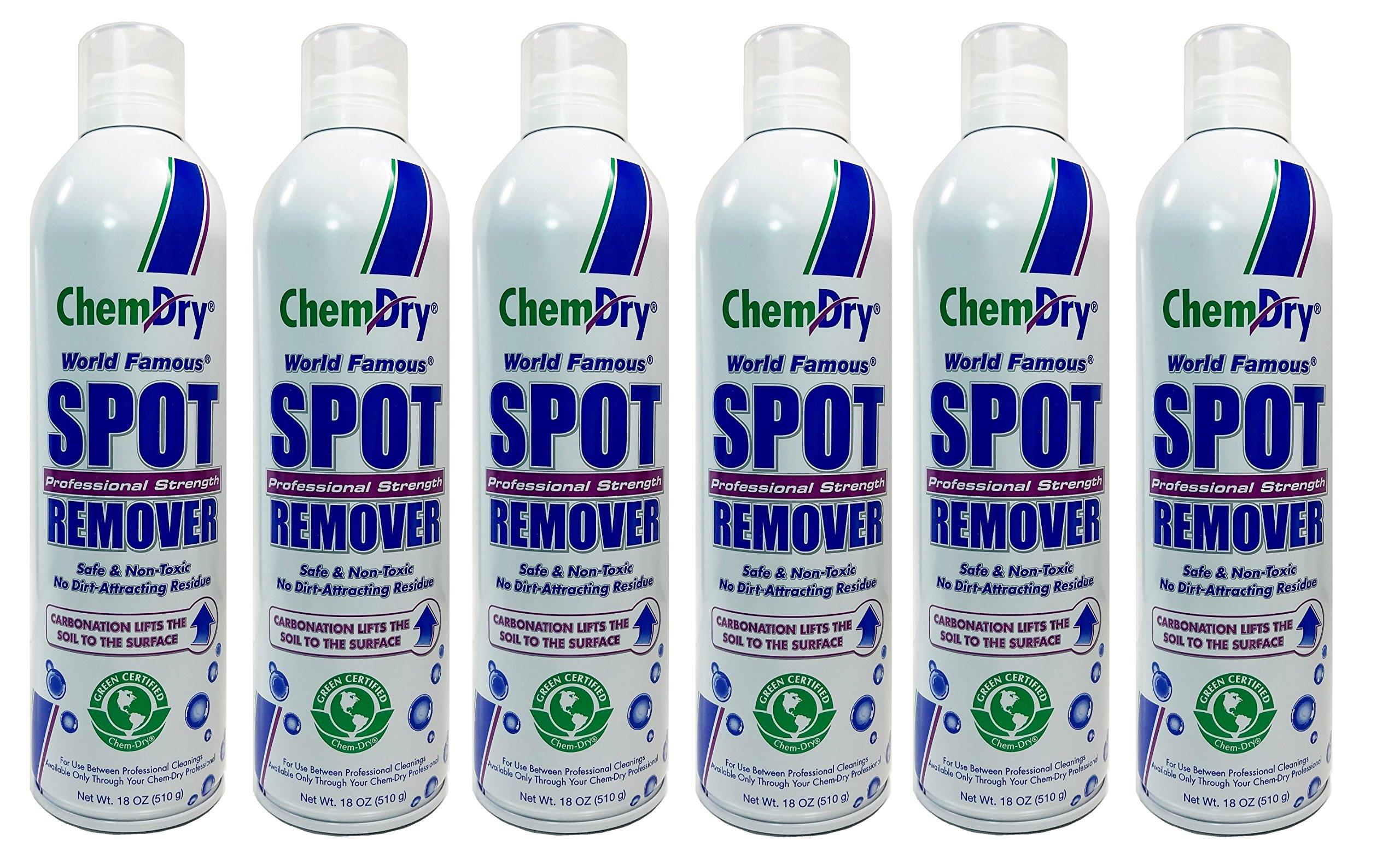 Chem-Dry Professional Strength Spot Remover 18oz (6 Pack)