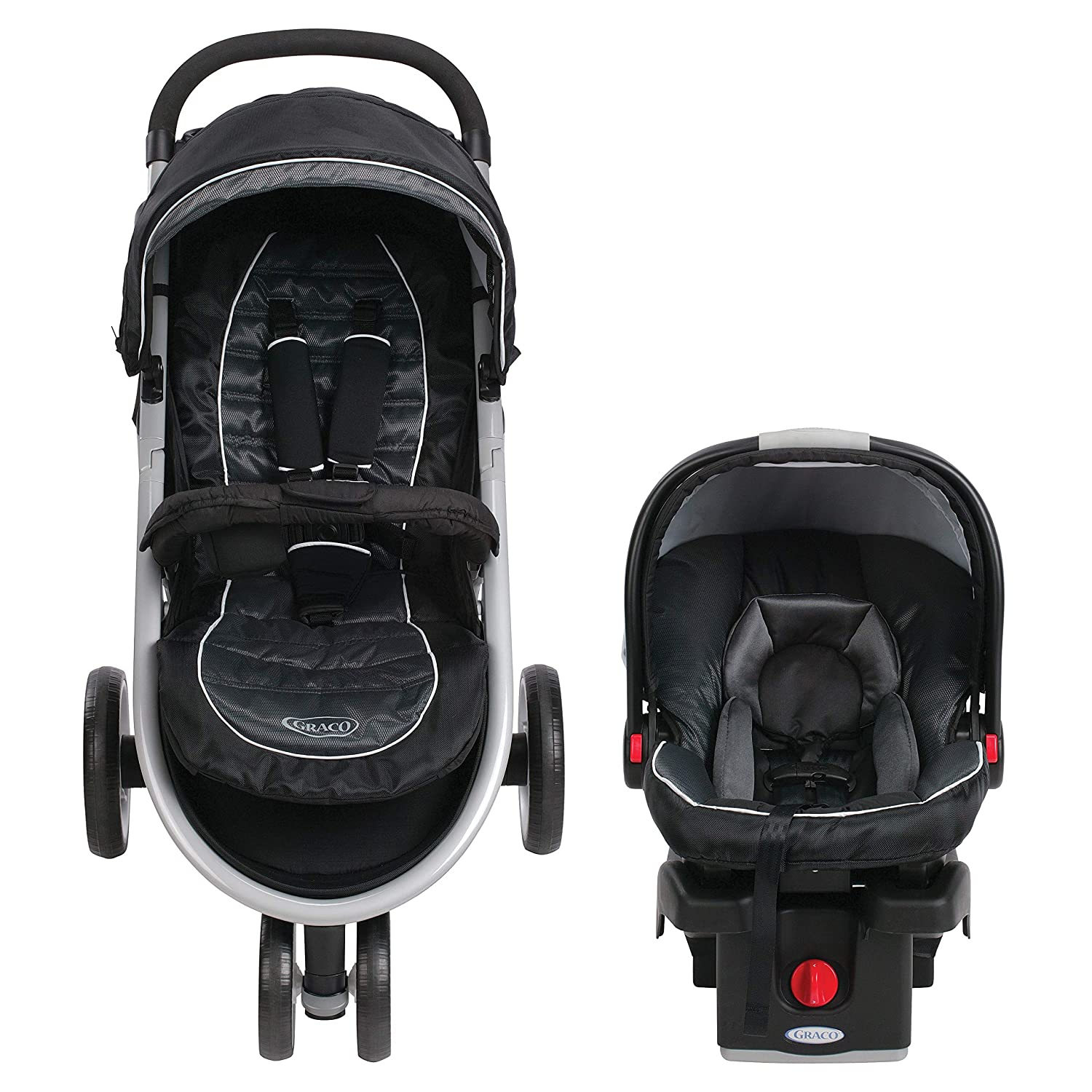 177abed36e0 Amazon.com   Graco Aire3 Travel System (Stroller and Car Seat ...