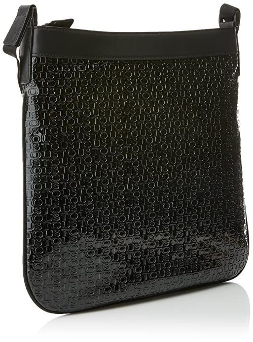 Bandolera Lindsay, Womens Cross-Body Bag, Negro (Black/Black), 2x31x28 cm (W x H L) Tous