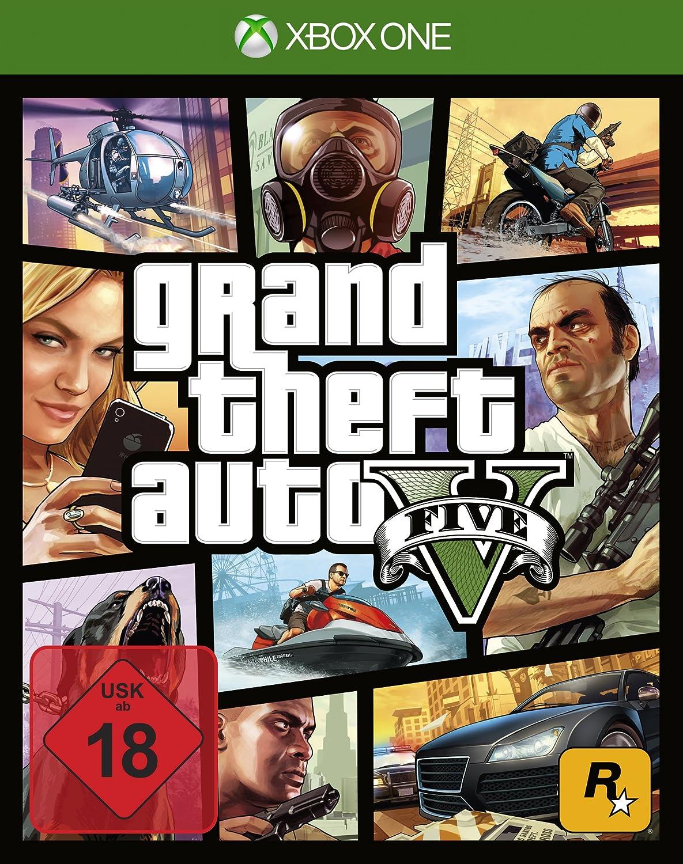 Grand Theft Auto V GTA Xbox One amazon