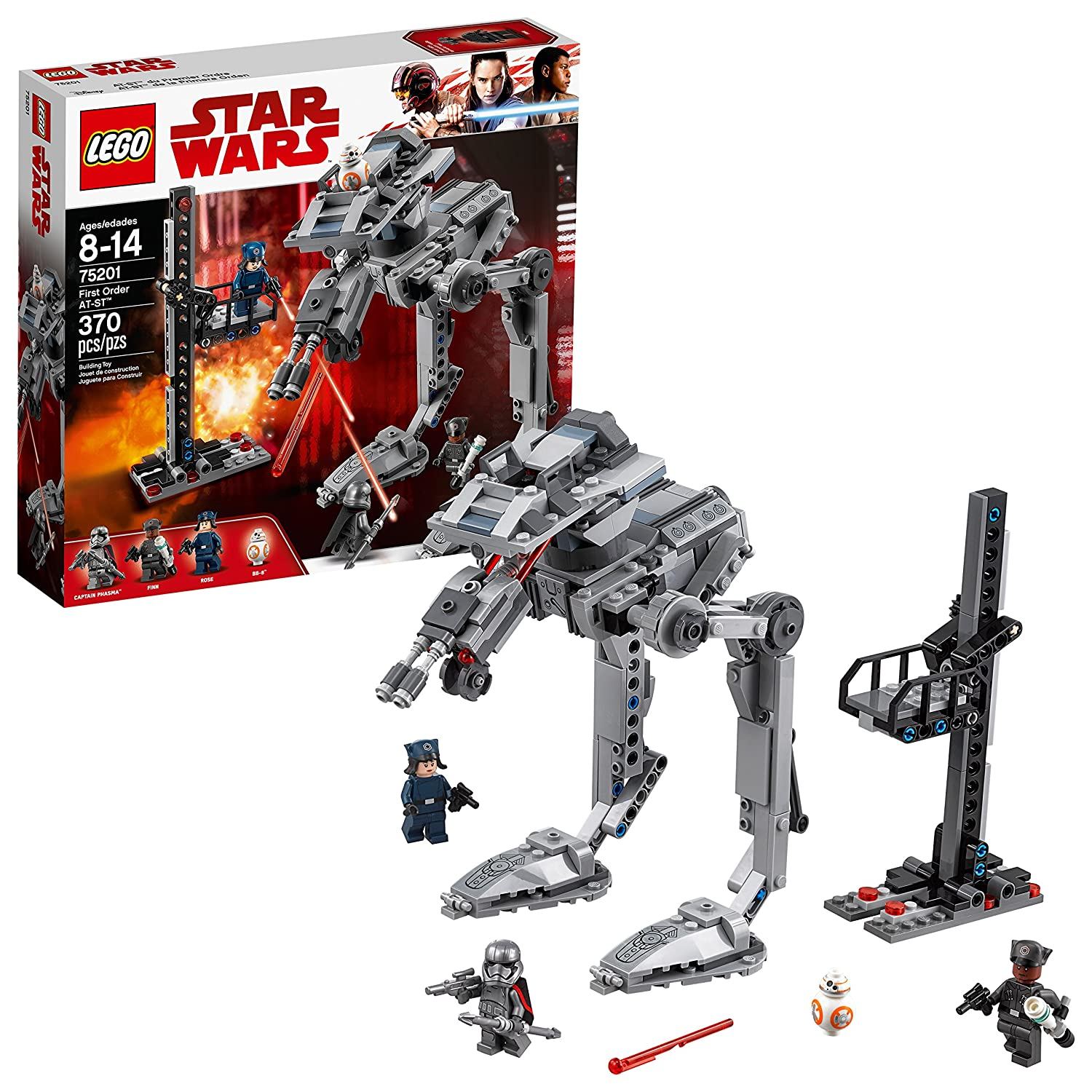 LEGO Star Wars: The Last Jedi First Order at-ST 75201 Building Kit (370 Piece) 6212562