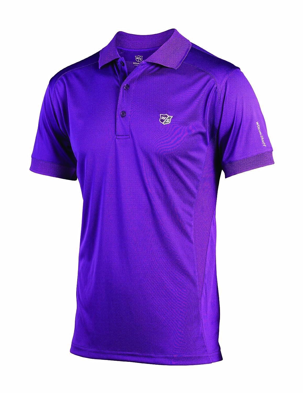 Wilson Staff Poloshirt Performance - Polo, Color Morado, Talla XXL ...