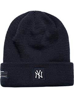 the best attitude 6ffbe 273f8 New Era MLB New York Yankees Sport Stocking Knit Hat Beanie Cuff Skull Cap  Navy