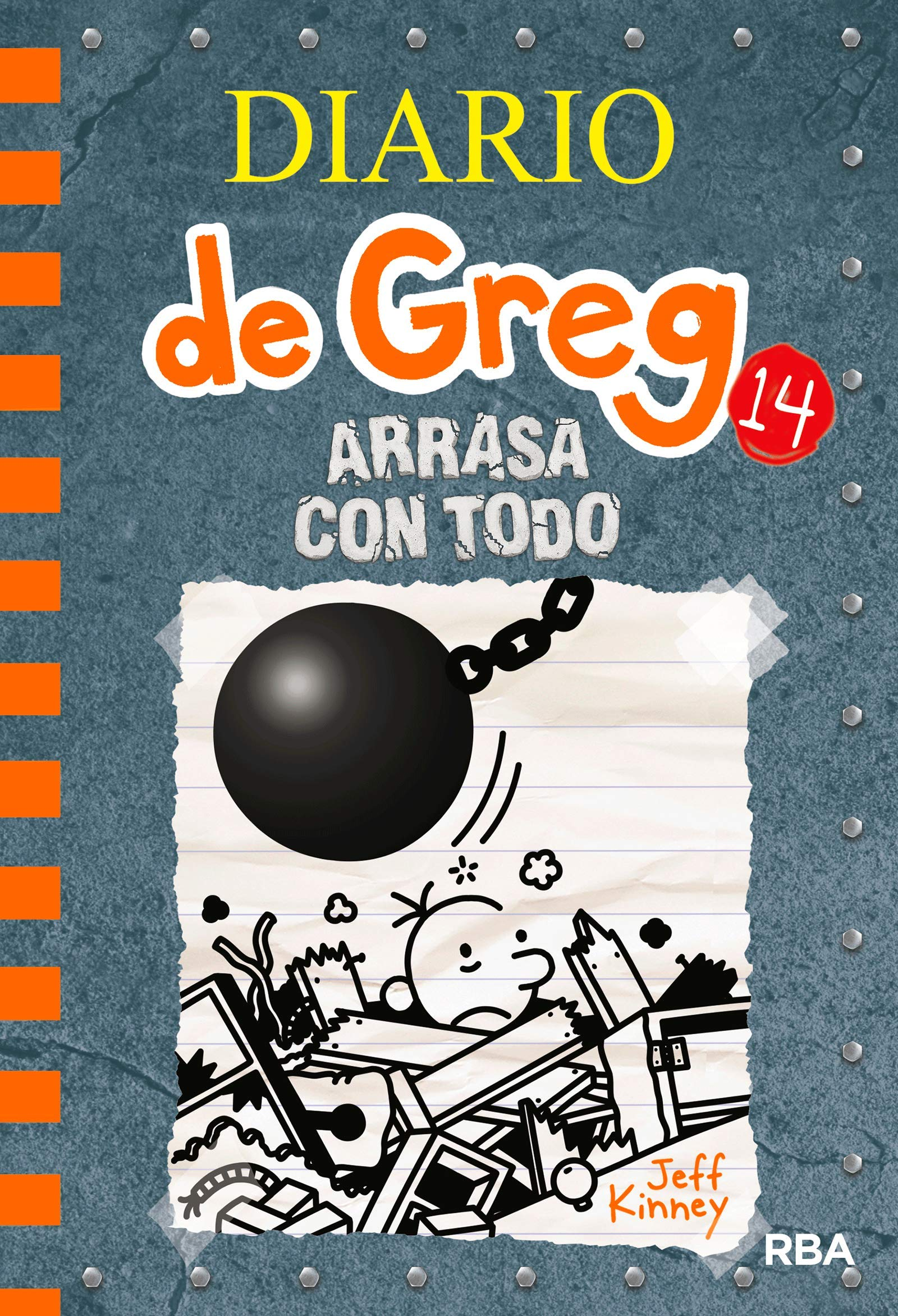 Diario de Greg 14. Arrasa con todo: Amazon.es: Jeff Kinney ...