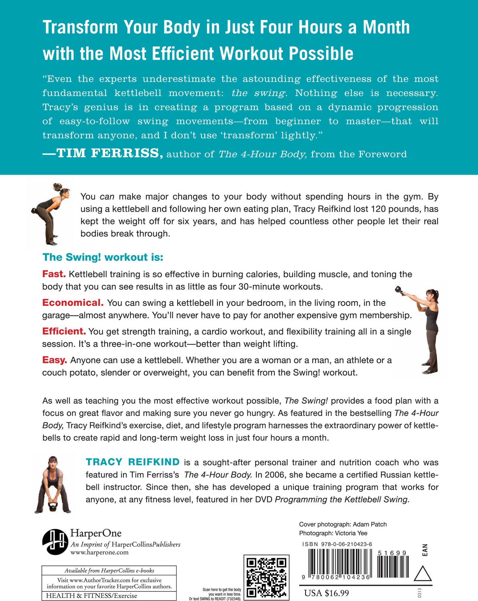 Lose the Fat and Get Fit with This Revolutionary Kettlebell Program: Tracy  Reifkind: 9780062104236: Amazon.com: Books