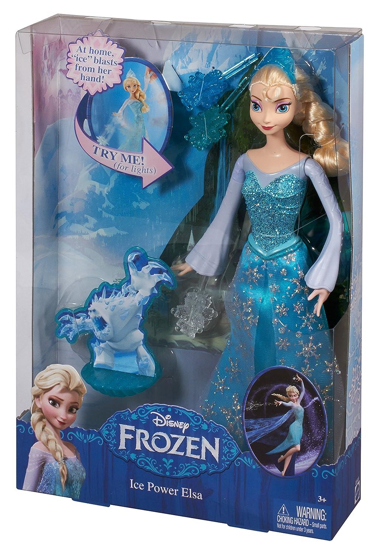 amazon com disney frozen ice power elsa doll toys games