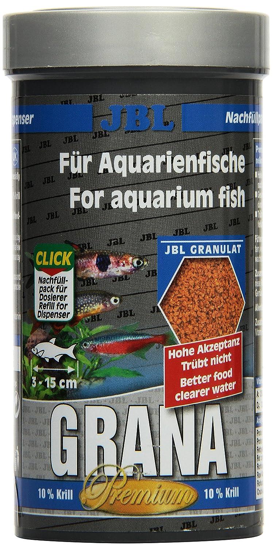 JBL PREMIUM ALIMENTO COMPLETO PARA PEQUEÑOS peces de Acuario, GRANULADO GRANA - 250 ml: Amazon.es: Productos para mascotas
