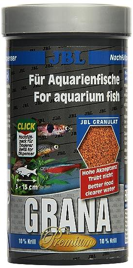 JBL PREMIUM ALIMENTO COMPLETO PARA PEQUEÑOS peces de Acuario, GRANULADO GRANA - 250 ml