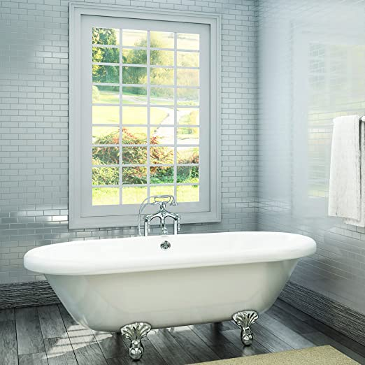 professional sale offer discounts premium selection Luxury 72 inch Large Clawfoot Tub with Vintage Tub Design in ...
