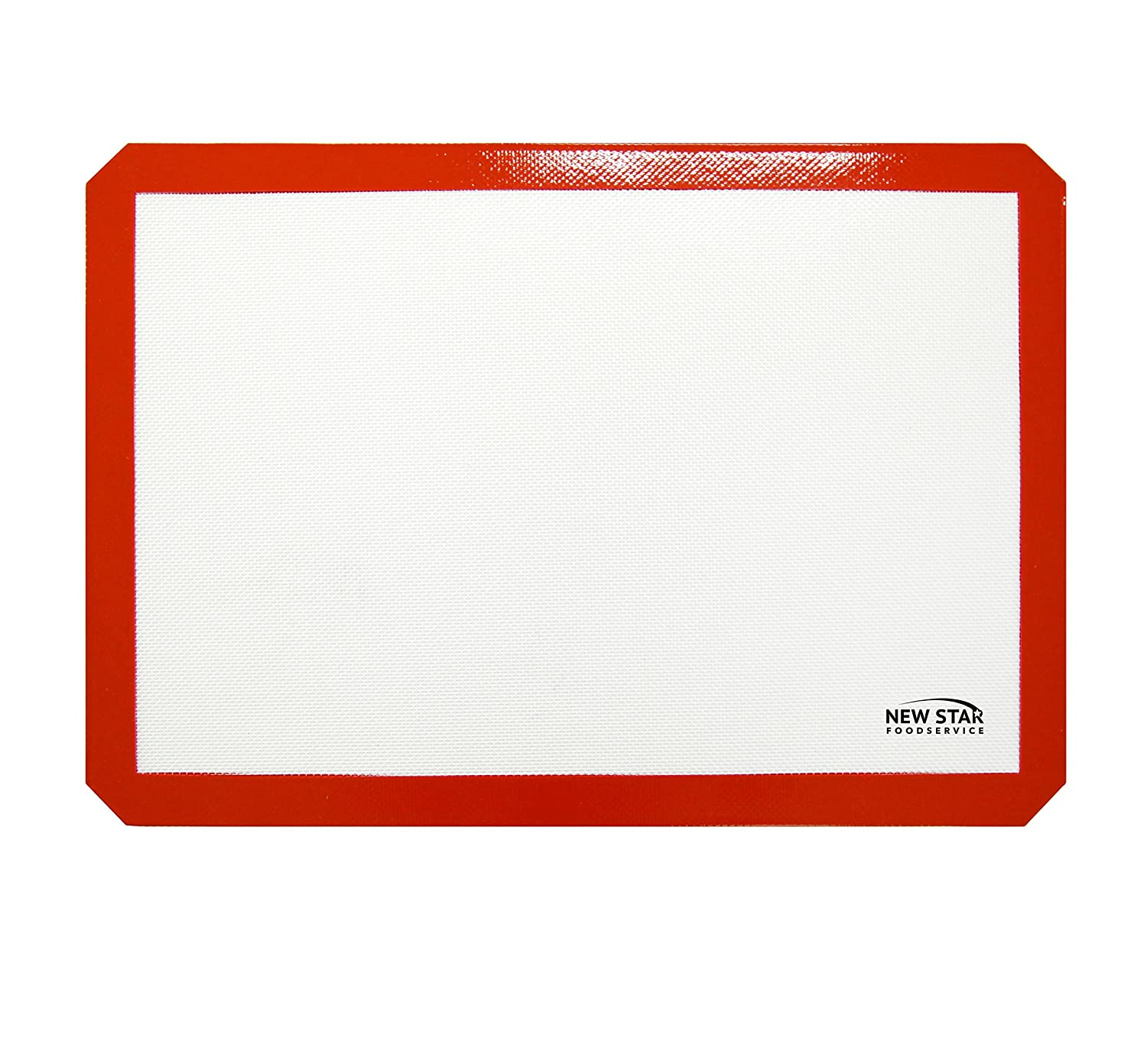 New Star Foodservice 36633 Commercial Grade Silicone Baking Mat Non-Stick Pan Liner, 8 x 12 inch (Quarter Size)