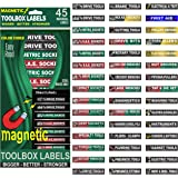 "Ultimate Magnetic Tool Box Organizer Labels (Green edition) organize boxes, drawers & cabinets ""Quick & Easy"", fits all…"