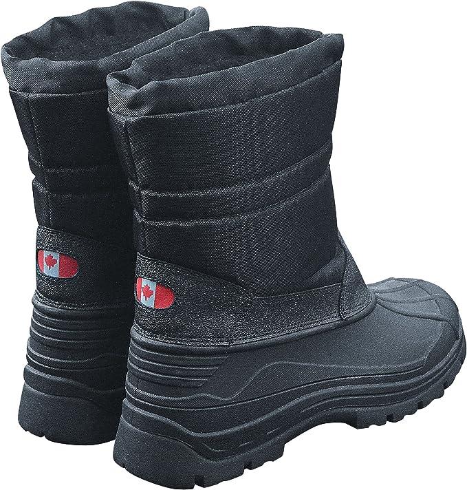 Canadian Snow Boots II Winterstiefel Schneestiefel Schwarz Thermo Winter Stiefel