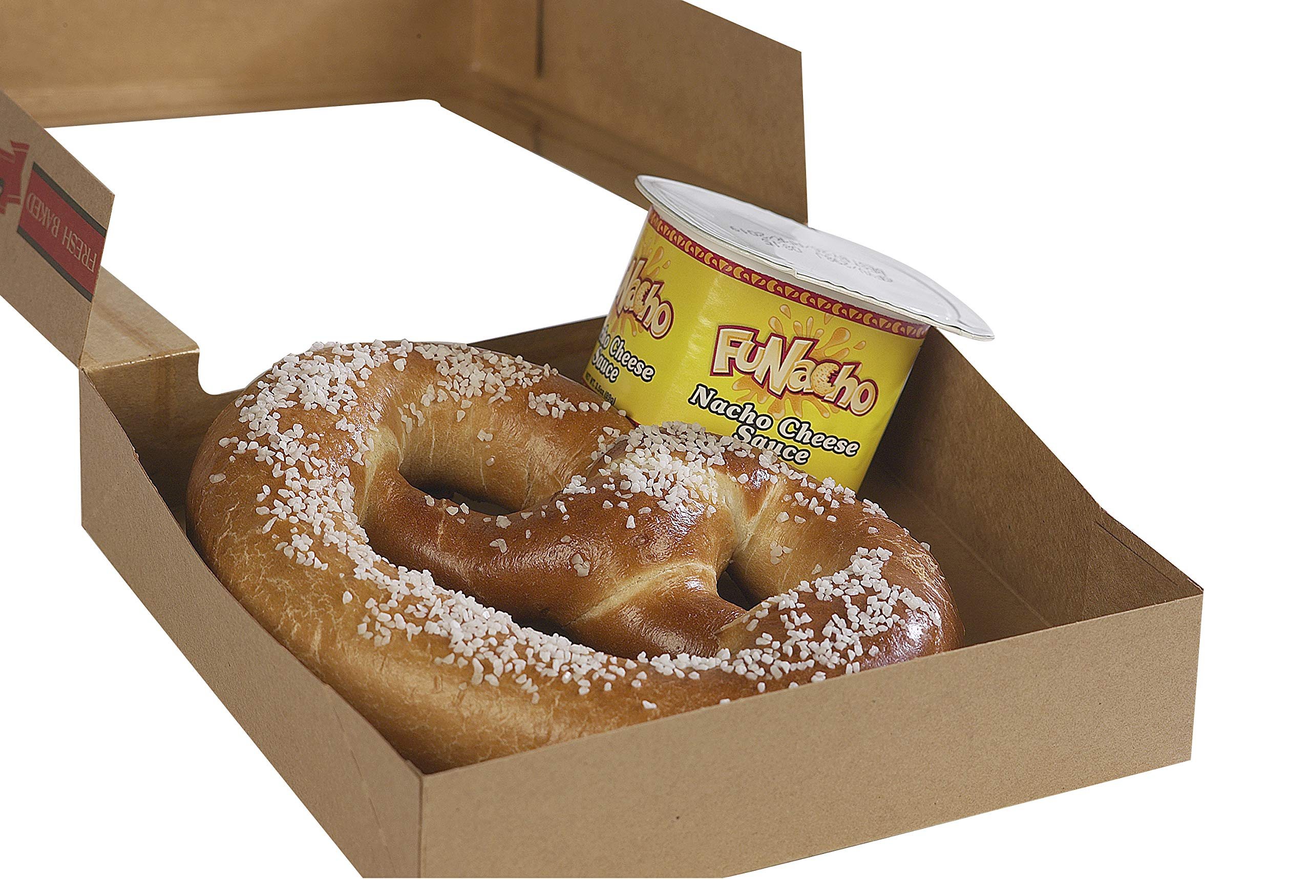 PretzelHaus Bakery Authentic Bavarian Plain Soft Pretzel, Pack of 25