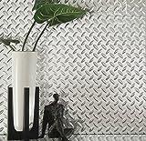 Chrome Diamond Plate Plastic Sheet 24\  x 48\  ... & Amazon.com : Black Diamond Plate Thermoplastic Sheet 24\