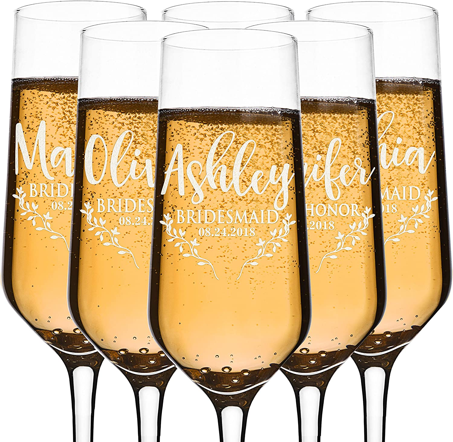 Mr wine glass Bridal party custom name-bachelorette shower personalize and mrs