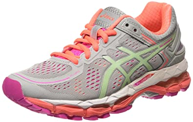 a84bc2f6c6349 Amazon.com | Asics Gel Kayano 22 Running Shoes grey/colorful, EU ...