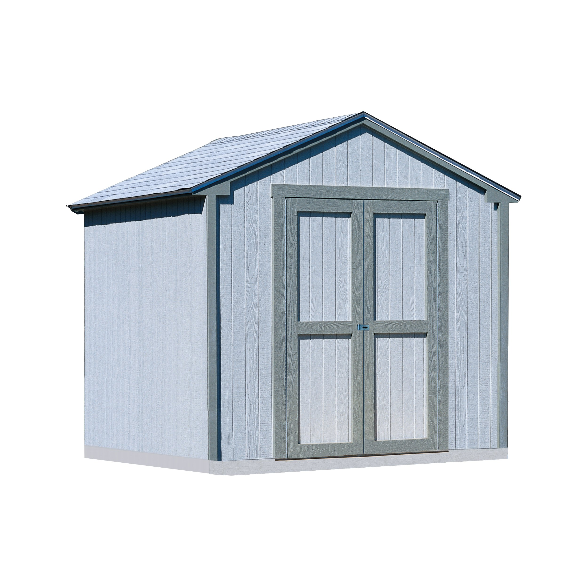 Handy Home Products 8-Feet by 8-Feet Kingston Shed with Floor by Handy Home Products