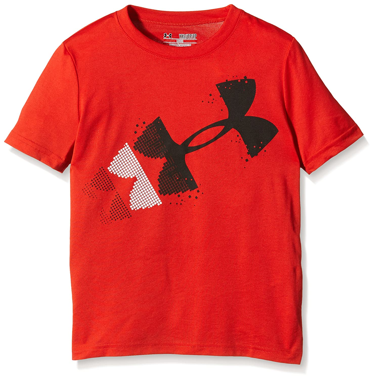 Under Armour Rising Pixelated Logo–Camiseta de Manga Corta para niño 1272021