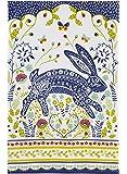 "Ulster Weavers 29.1"" x 18.9"" Woodland Hare Cotton Tea Towel"