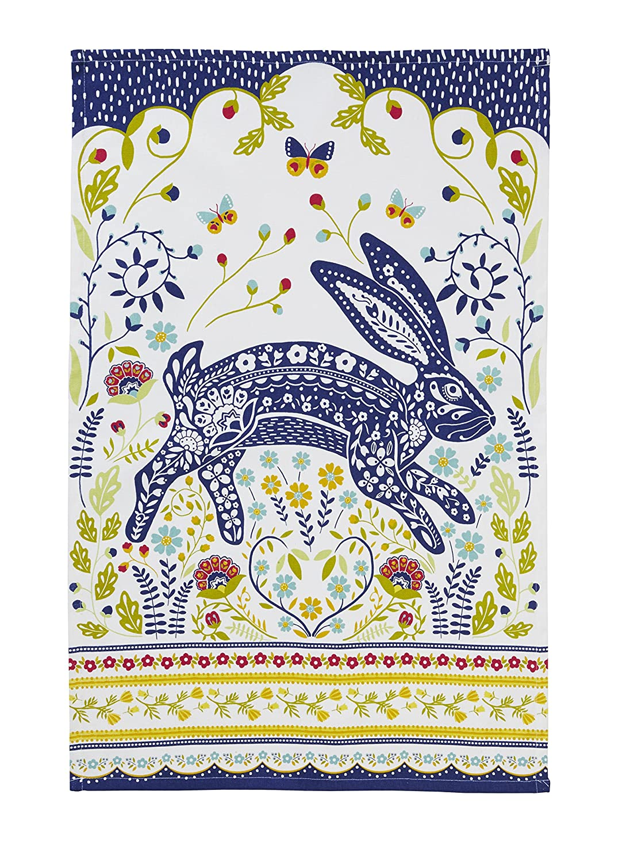 Ulster Weavers 29.1 x 18.9 Woodland Hare Cotton Tea Towel 022WHA