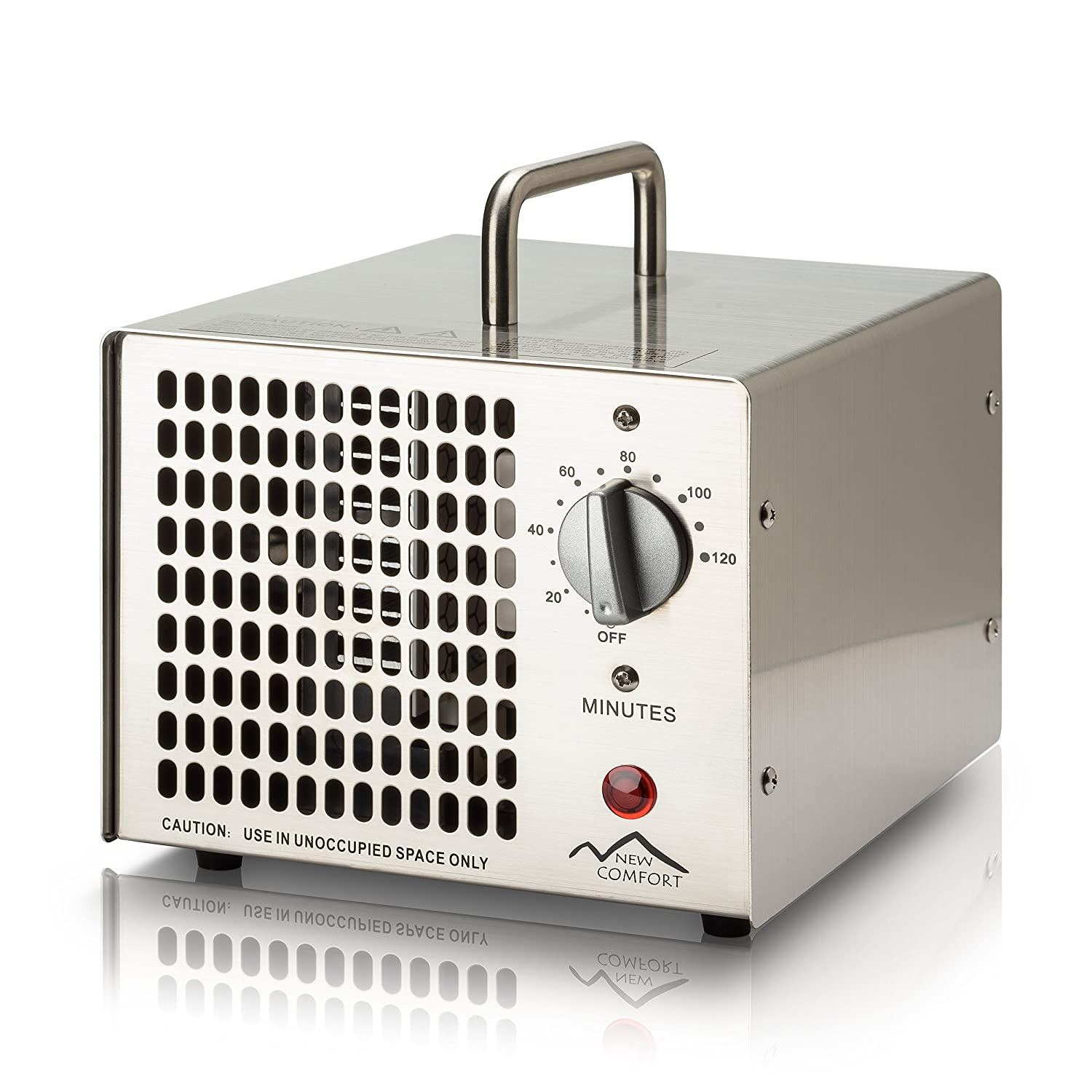 New Comfort Stainless Steel HE-500 Commercial Ozone Generator Air Purifier