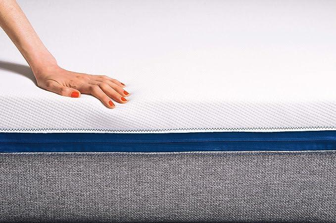 Tediber El Increíble Colchón Doble 150 x 190cm - Firme y Acogedor a la Vez - Fabricado en Bélgica - Desenfundable - 100 Noches de Prueba - Entrega en 48-72h ...