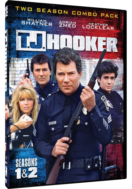 Amazon.com: TJ Hooker - Seasons 1 & 2: William Shatner, Heather Locklear,  Adrian Zmed, James Darren, Various: Movies & TV