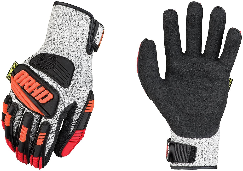 Nitrile Cut Resistant Gloves PR Mechanix KHD-CR-008 KHD-CR-008;work gloves;mechanix gloves;oil resistant gloves;drilling gloves;hi viz;safety gloves;impact gloves;cut resistant gloves;grip gloves Gray S