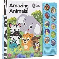 Baby Einstein - Amazing Animals 10-Button Sound Book - PI Kids (Play-A-Sound)