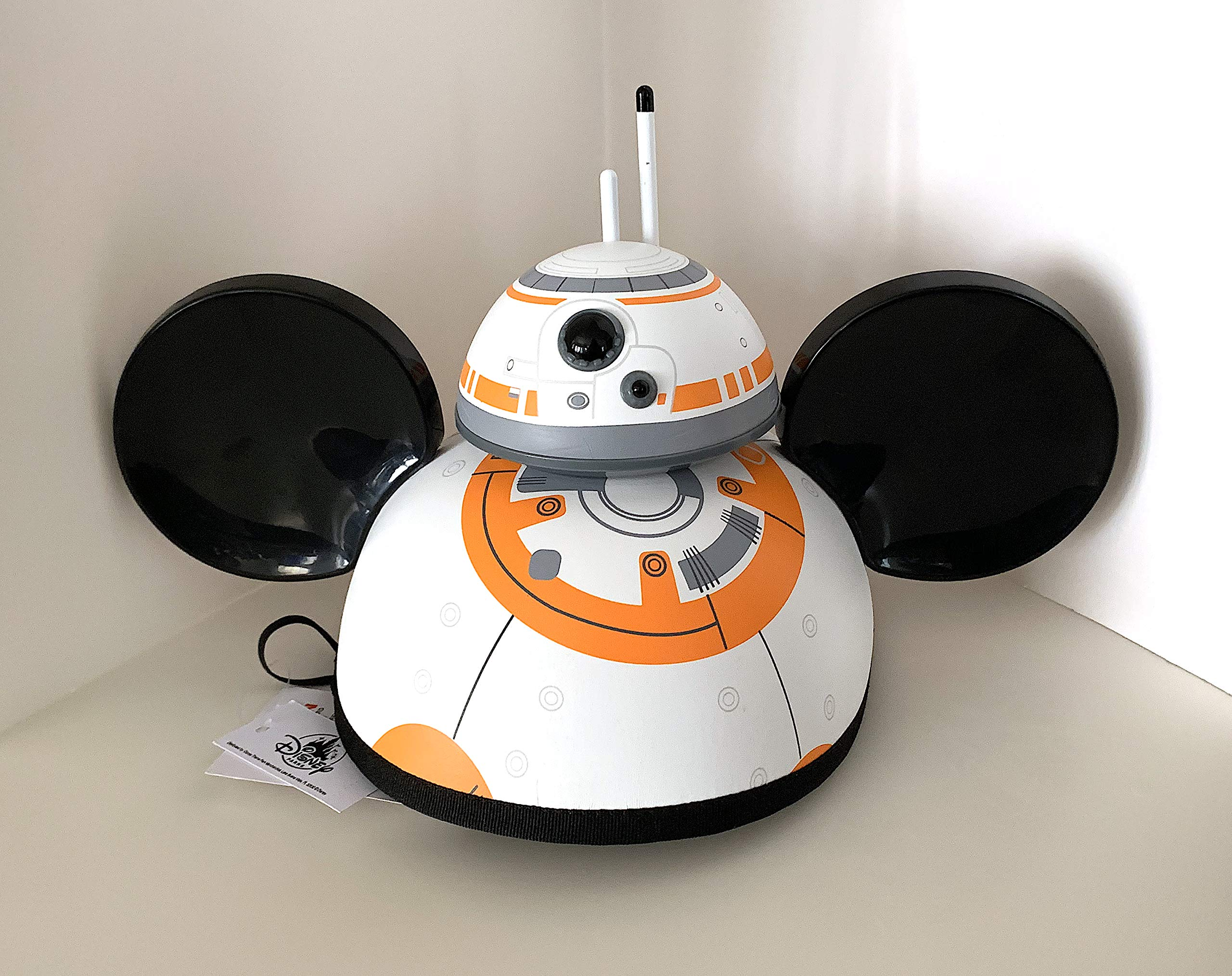 Disney Parks Star Wars BB8 Mickey Mouse Ears Hat 2019 Design