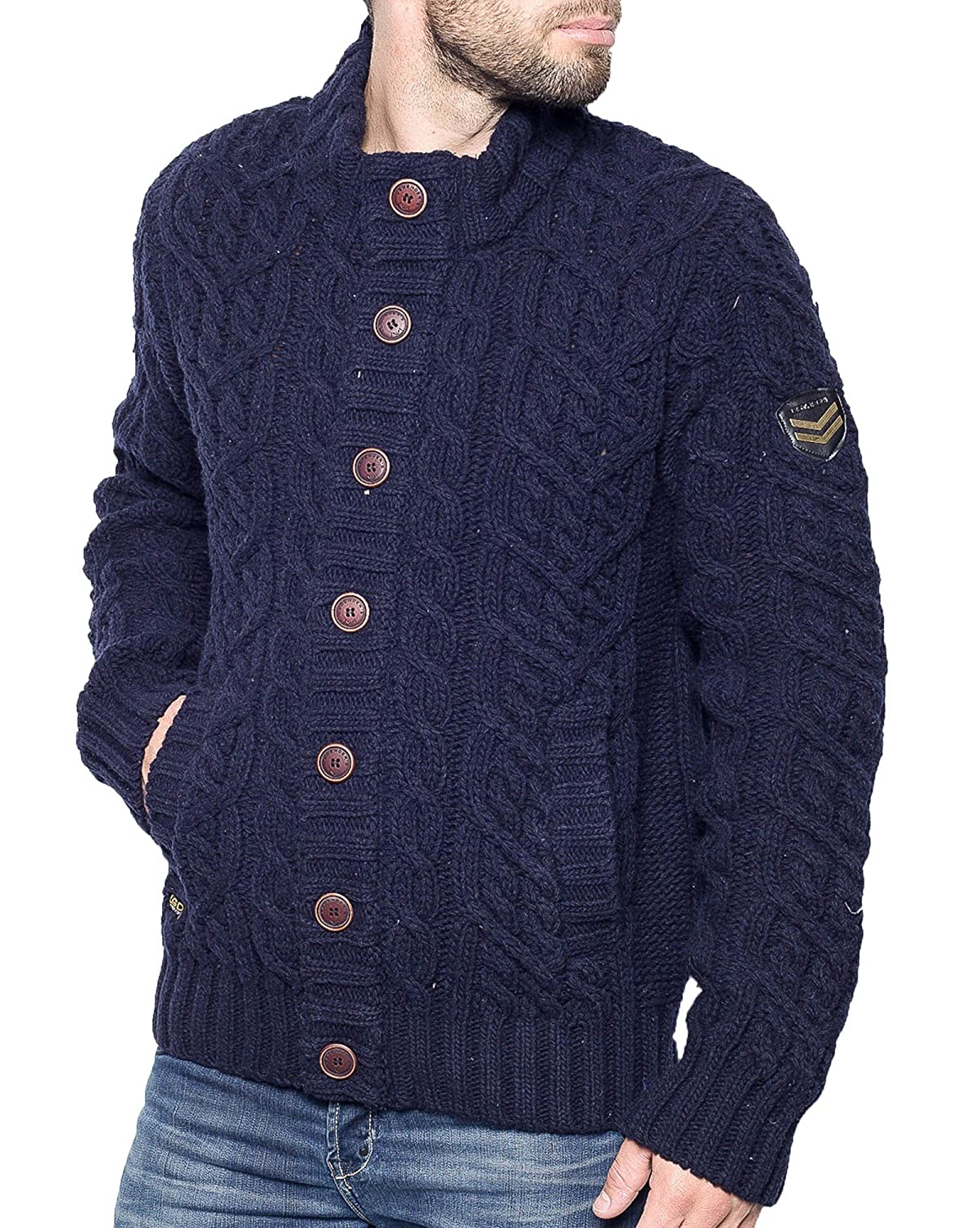 Legenders - vest buttoned navy man