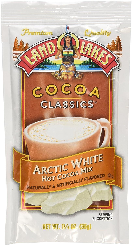 Amazon.com : Land O Lakes Cocoa Classic Arctic White Hot Cocoa Mix ...