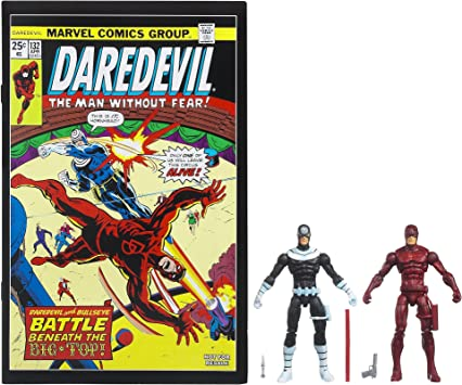 Hasbro Marvel Universe Comic Pack Daredevil Bullseyes: Amazon.es ...