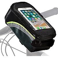 Fietsstuurtas, waterdicht, premium telefoonhouder, smartphonehouder, telefoonhouder, afneembaar, voor fiets, e-bike…