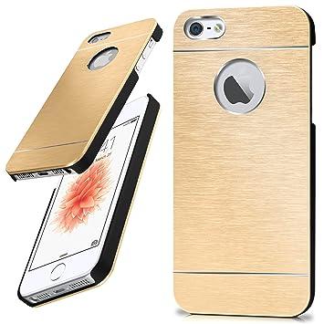 Moex Apple Iphone 5s Hülle Dünn Gold Amazonde Elektronik