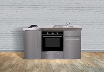 Miniküche Mit Kühlschrank Xs : Mini küchen stengel miniküche kitchenline mkc ceran rechts