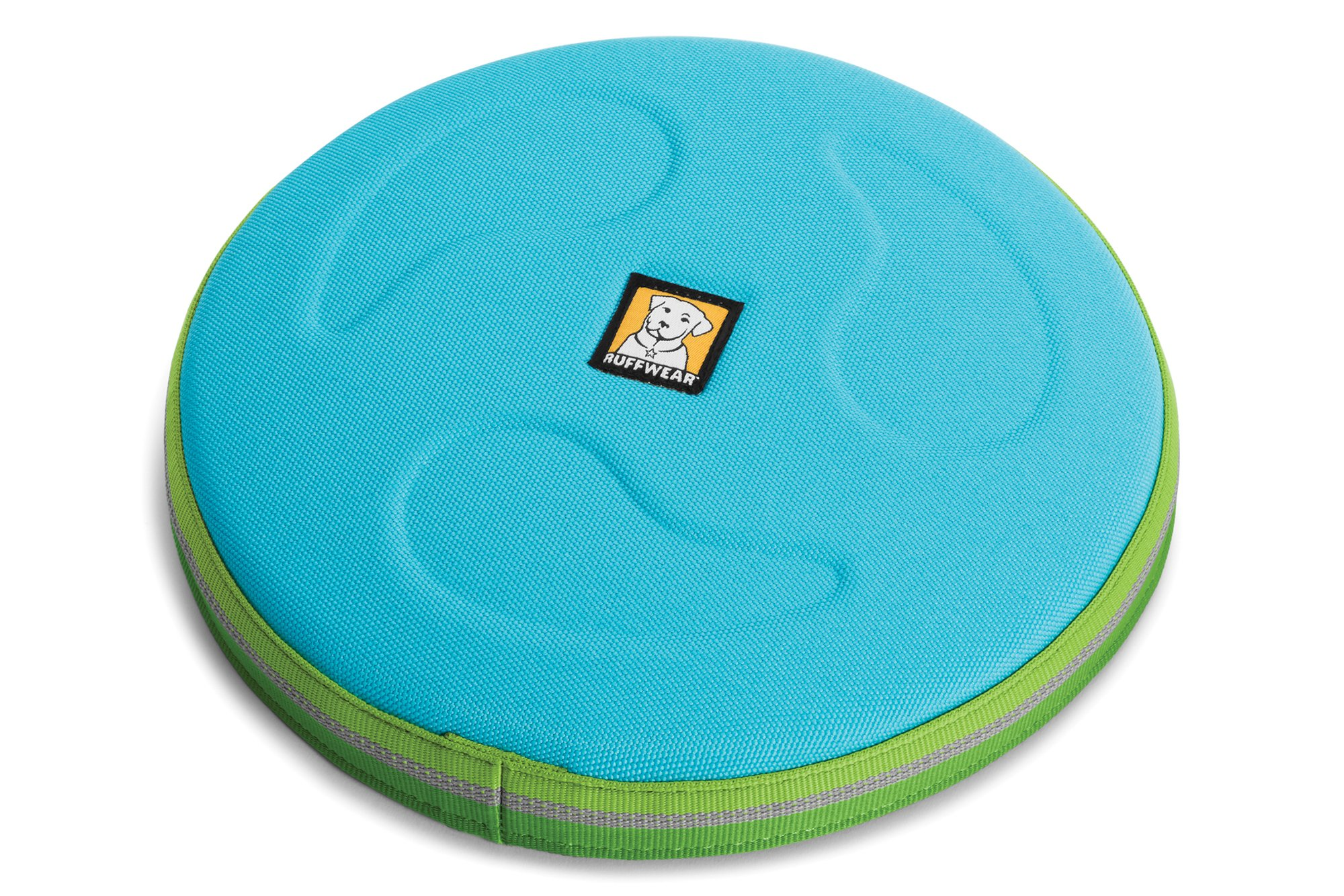 RUFFWEAR - Hover Craft Flying Disc for Dogs, Blue Atoll, Large
