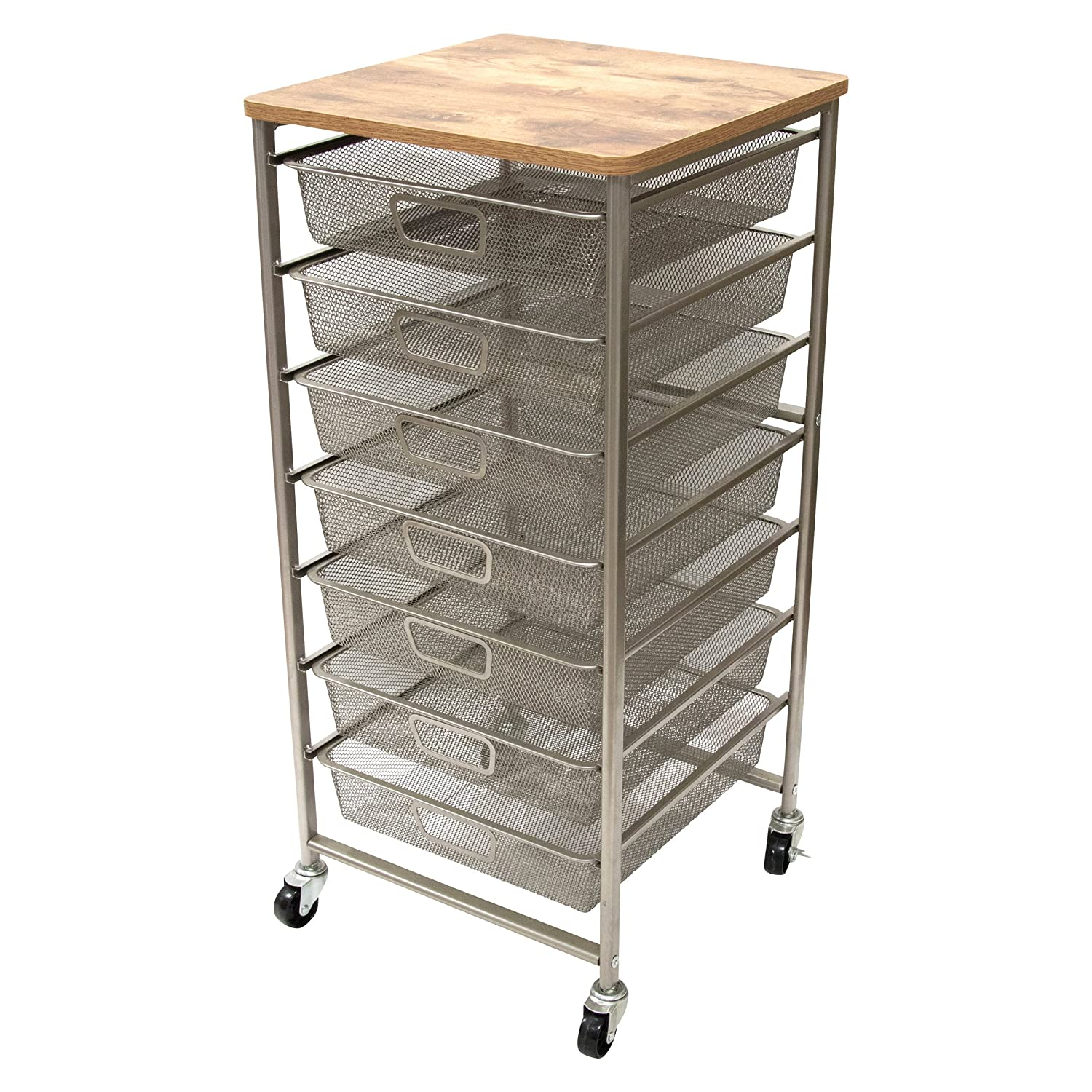 Tim Holtz Idea-ology CH93520 Signature Design Industrial Storage Cart, 33.5 X 15.75 X 15.75 Advantus Corp.