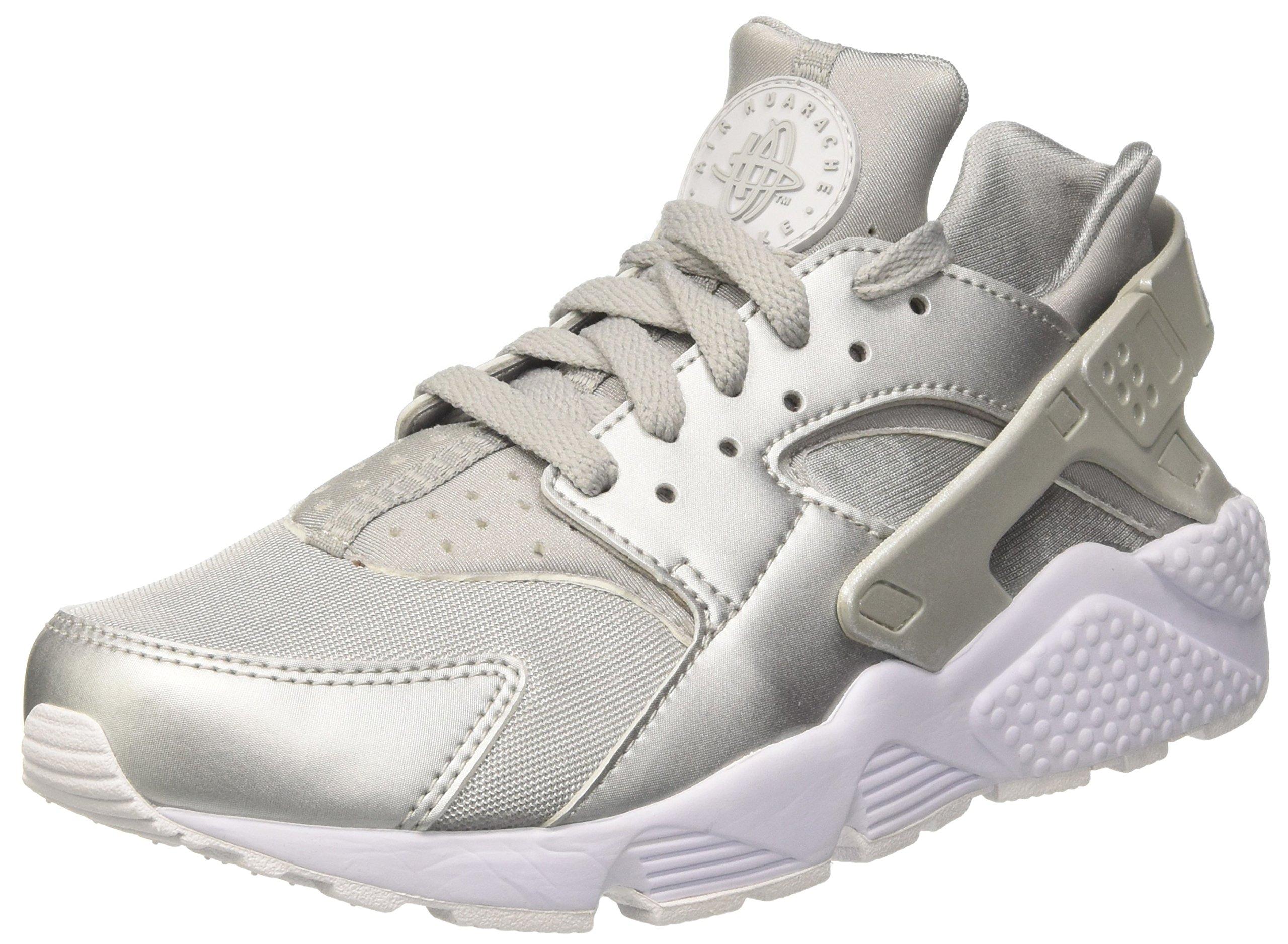 wholesale dealer 2d99c 80edf Galleon - NIKE Men s Air Huarache Run Premium Metallic Silver 704830-008  Shoe 12 M US Men