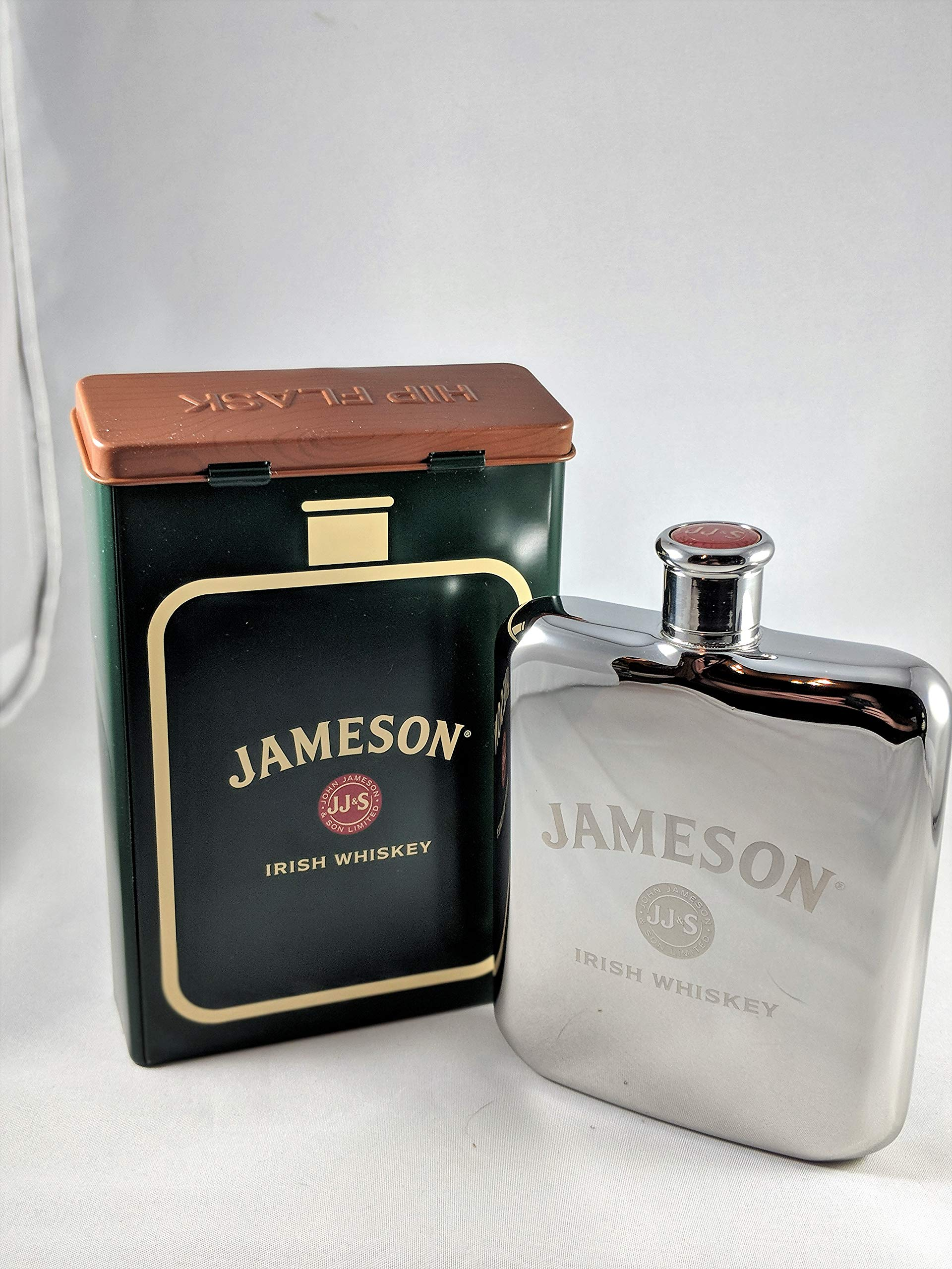 Jameson Irish Whiskey Signature Flask by John Jameson and Sons