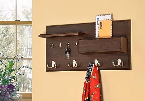 Amazon.com: Entryway Coat Rack Mail Envelope Storage and Key Holder ...