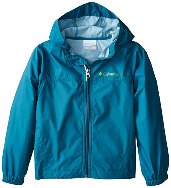 Columbia Big Boys' Glennaker Rain Jacket, Deep Wave, X-Large best kids' raincoats